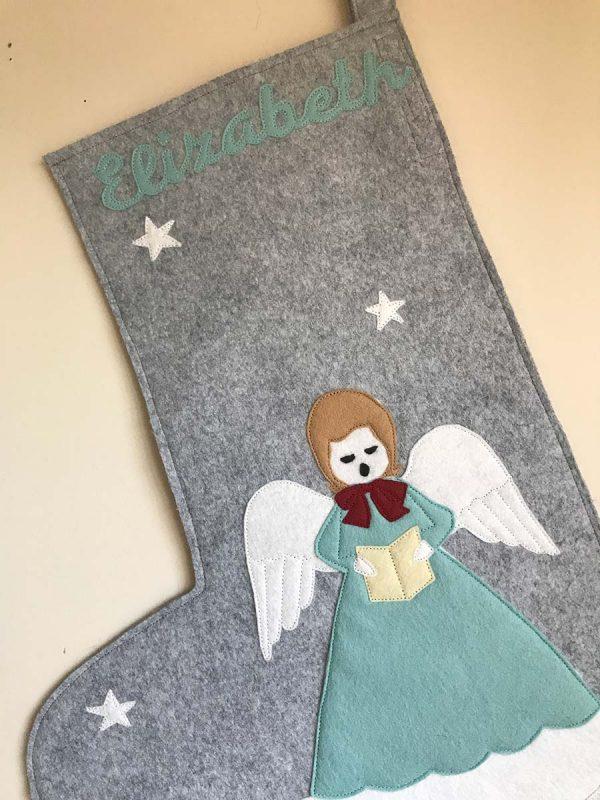 Angel Stocking Detail