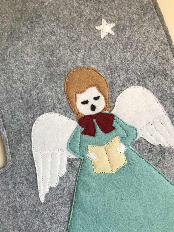 Angel Stocking Face
