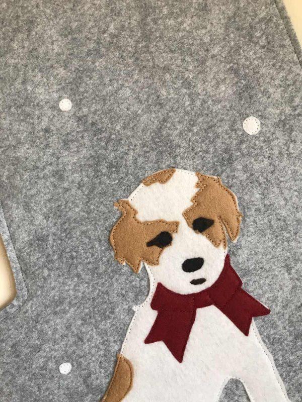 Custo Dog Stocking Face