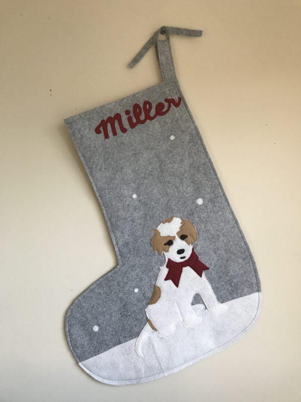 Custom Dog Stocking Full