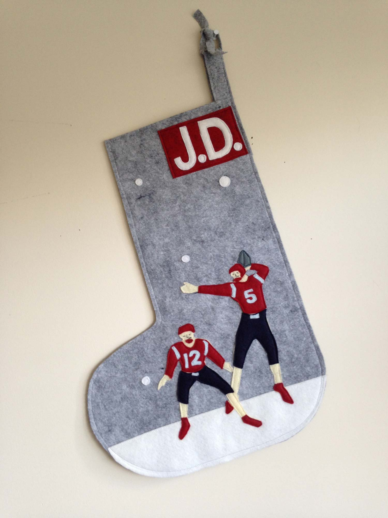 Custom Football Stocking