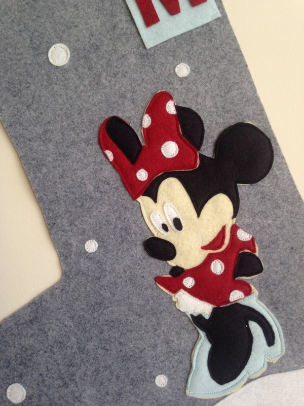 Minnie Mouse detail