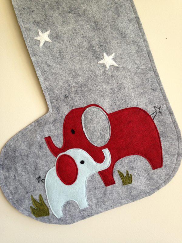 Detail Elephant Stocking