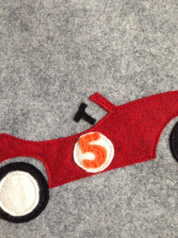 Detail Race Car Stocking
