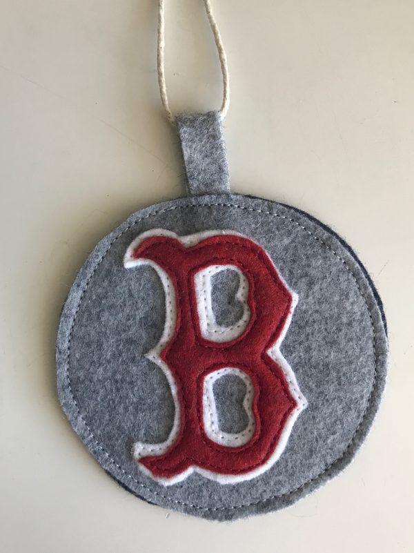 Red Sox B Ornament