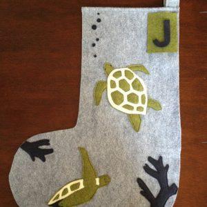 Personalized Sea Turtle Stocking