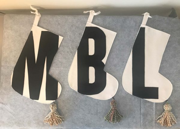 Three letter stockings