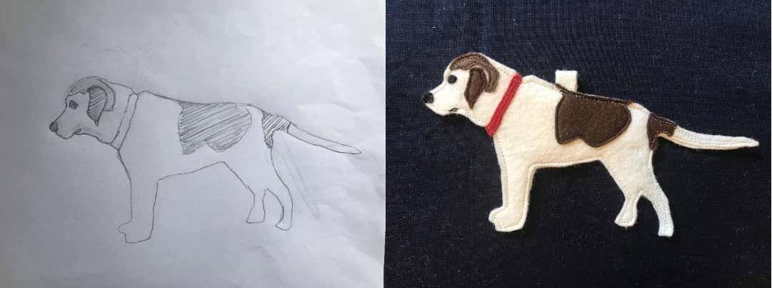 Custom Dog Ornament #2