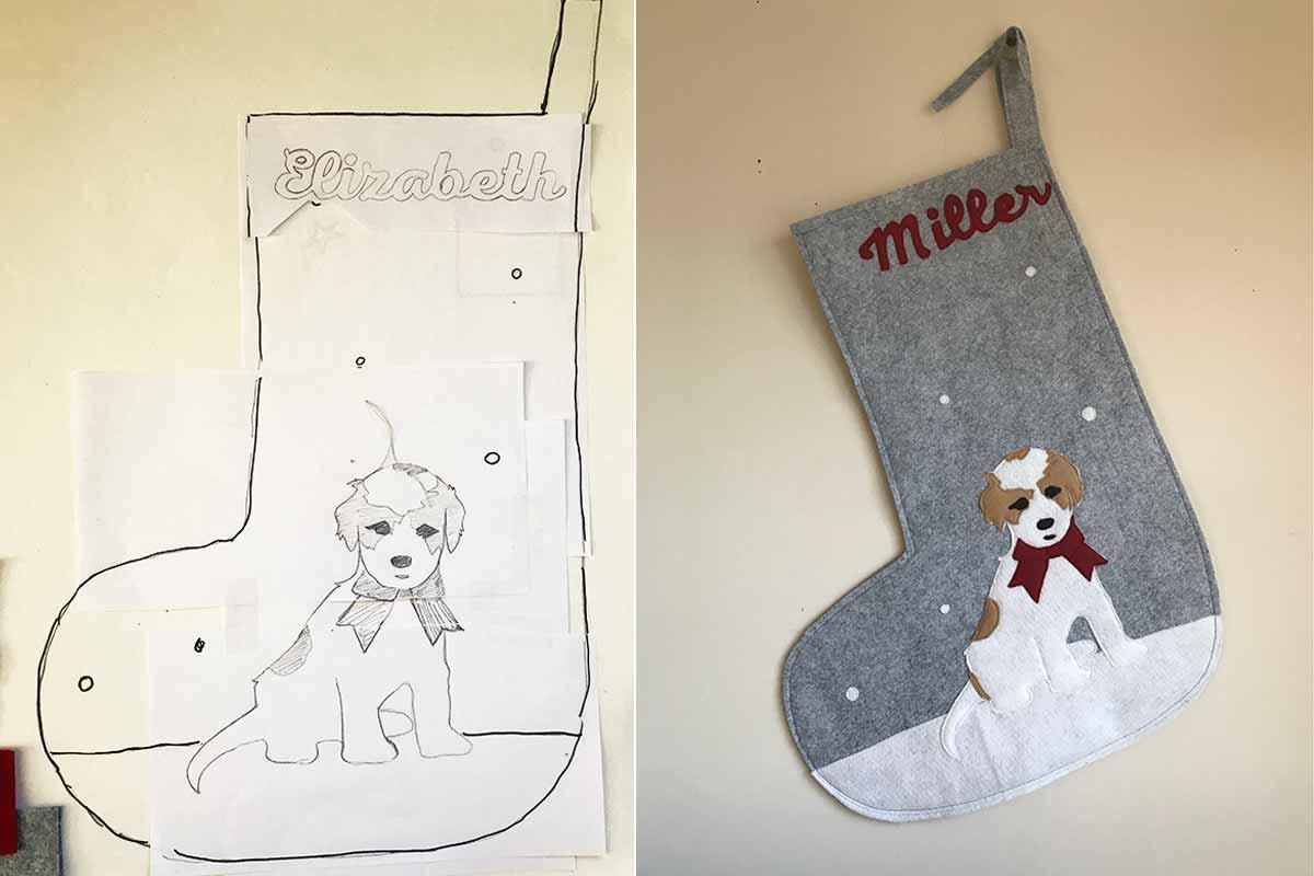 Custom Dog Stocking