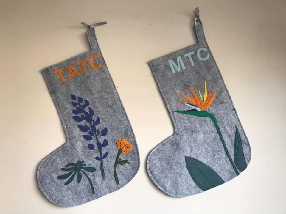 Floral Stockings Custom Design