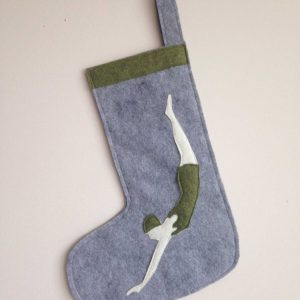 Small Diving Girl Stocking