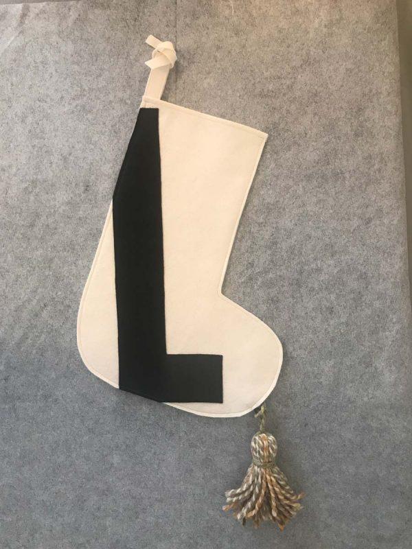 Letter L Stocking