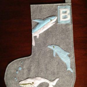 Sea Life Personalized Stocking