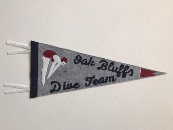 Oak Bluffs Dive Team Pennant