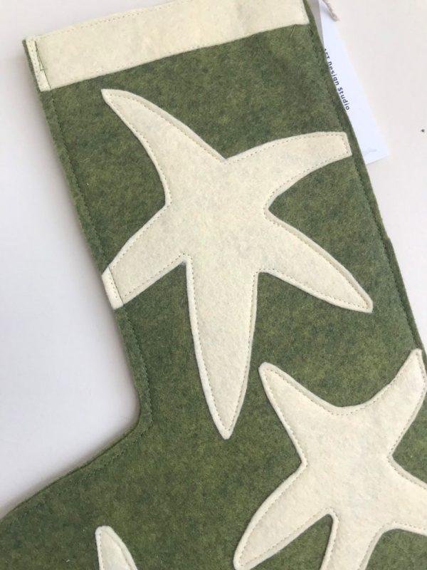 Detail Small Green Starfish Stocking