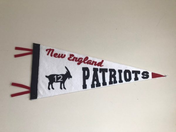 #12 Goat Patriots Pennant
